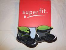 Luxusní zimní vysoké boty s goretexem, superfit,35