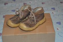 Celokožené kotníčkové boty, italské, 25