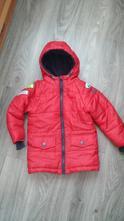 Zimní bunda červená v záruce, pepco,98