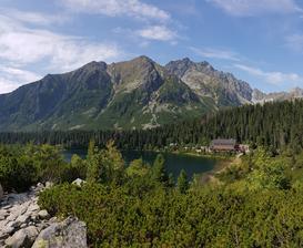 Vysoké Tatry, láska na první pohled.