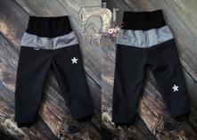 """Softshellové """"batolecí"""" kalhoty, 68 - 164"""