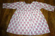 Šedorůžové šaty next vel 62/68, next,62
