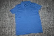 Modré polo triko s límečkem hm, 98/104, h&m,98