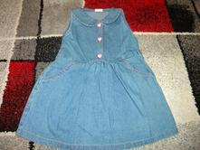 Riflové šaty vel.110, 110