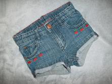 Džínové šortky vel. 68, h&m,68