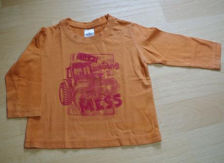 Tričko oranžové auto, 86