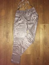 Lesklé kalhoty 34, 34 / xs