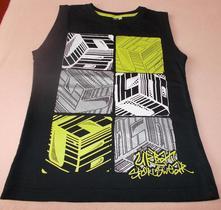 Chlapecké triko bez rukávu černé urban sports, 140