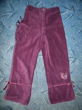 Kalhoty-v.122/128, palomino,122