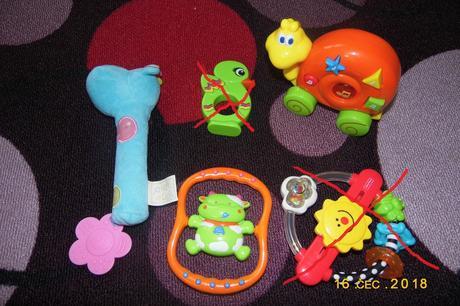 Hračky pro miminko,