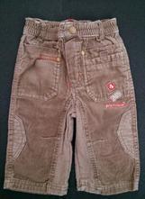 Kalhoty, manšestráky berti vel. 74, berti,74
