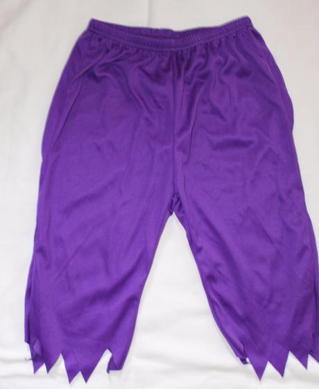 Be81. karnevalové kalhoty 7-8 let,