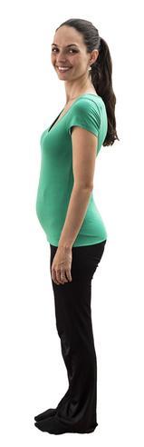 17. týden těhotenství - Velikost bříška