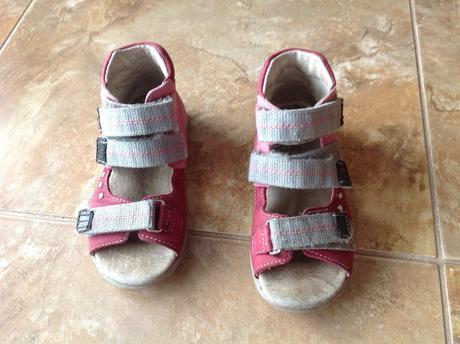 Kožené sandalky fare, fare,28