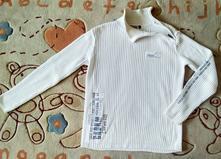 Pánský bílý svetr značky c&a, c&a,l
