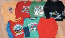 Pěkné tričko, triko, dlouhý rukáv, vel. 98 - 104, c&a,98