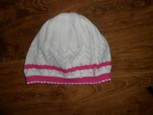 Pletená čepice, ajs, vel 50-52, ajs,50