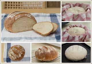 Pšeničný kmínový chléb