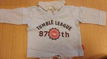 Košile s dl. rukávem s vestičkou, h&m, vel. 68, h&m,68