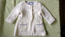 Pletený kabátek/svetřík, john lewis,86