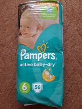 Pampers active baby-dry vel.6, pampers,11 kg - 25 kg