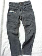 Sportovní manžestrové kalhoty, dopodopo,104