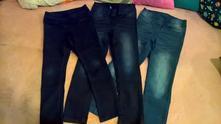 Měkke slim džíny, c&a,128