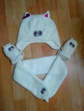 Zimní set čepička, šála, rukavičky topolino, topolino,98