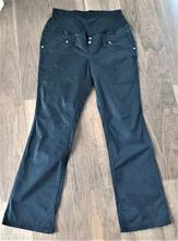 Těhotenské černé kalhoty, 38