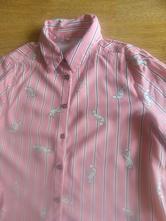 Proužkovaná košile s liškami, c&a,122