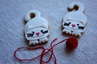 Perníkové kočičky
