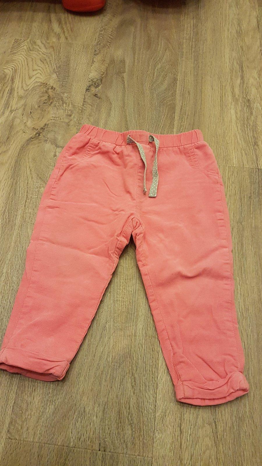 Manšestrové kalhoty fb76312375