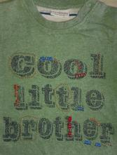 Bavlněné tričko next s nápisem cool brother, next,62