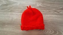 Středně teplá pletená čepice, 86