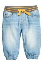 Natahovací džíny h&m, velikost 74, h&m,74