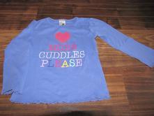Fialové tričko s dlouhým rukávem zn. palomino 104, palomino,104