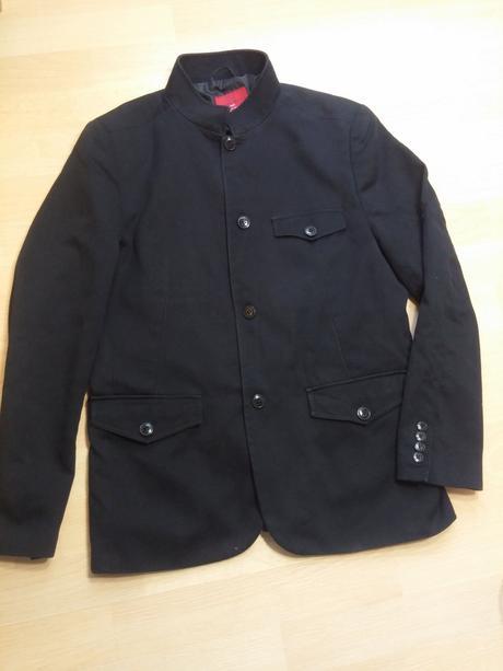 Kabát sako černé pánské , zara,l