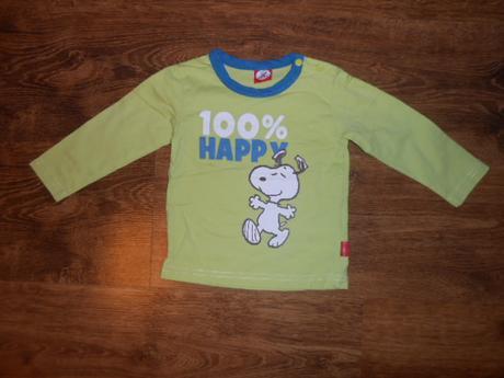 Bavlněné triko, peanuts, vel 80, 80