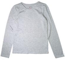 Šedé melírované tričko, tu,140