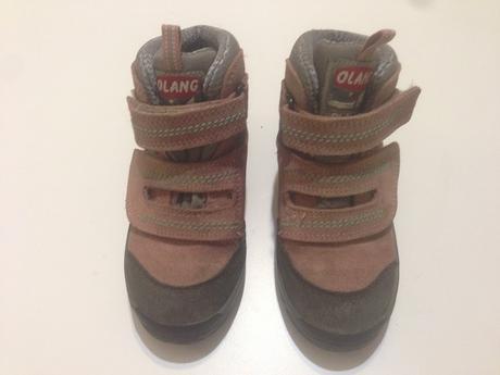 dc3a83abdd2 Dětské trekové boty olang vel. 28