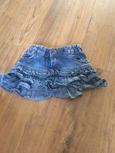 Džínová sukně, h&m,98