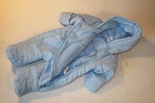 Zimní kombinéza a přetahovací rukavičky, f&f,62