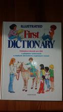 První anglický slovník - first illustrated diction,