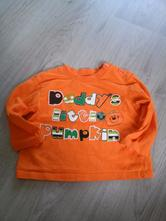 Oranžové tričko f&f, f&f,80