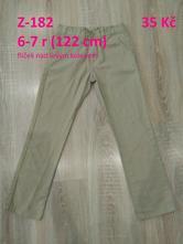 Bavlněné kalhoty, denim co,122
