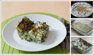 Špenátové lasagne podle @jujika