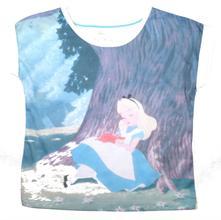 Nenošené tričko alenka v říši divů,, marks & spencer,116