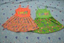 Letní šaty šatičky zástěrka do školky, 122