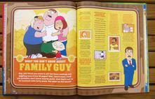 Kniha na procvičení aj griffinovi - family guy,