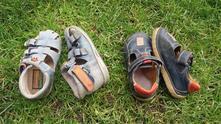 Kožené boty vel. 21, 21